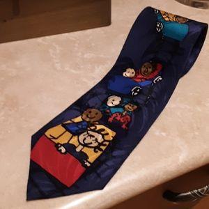 %100 silk Johns Hopkins Childrens Center tie